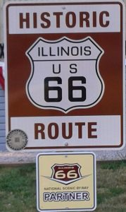 Rt 66 Sign CG sign